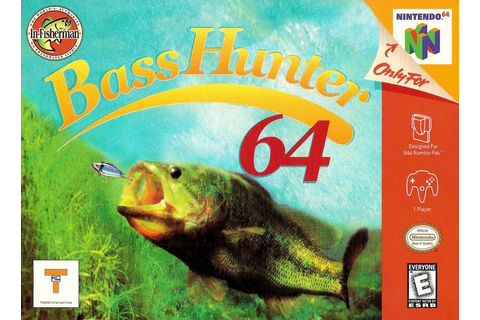 Free Download In Fisherman Bass Hunter N64 PC Full Version ...