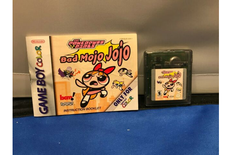 The Powerpuff Girls: Bad Mojo Jojo (Nintendo Game Boy ...