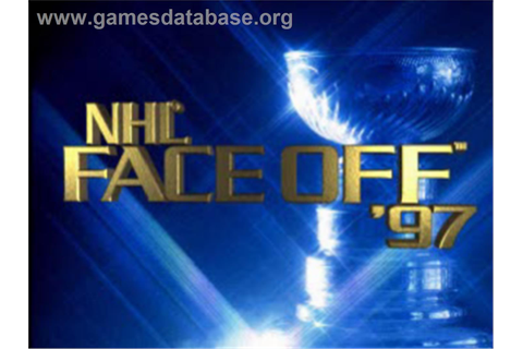 NHL FaceOff '97 - Sony Playstation - Games Database
