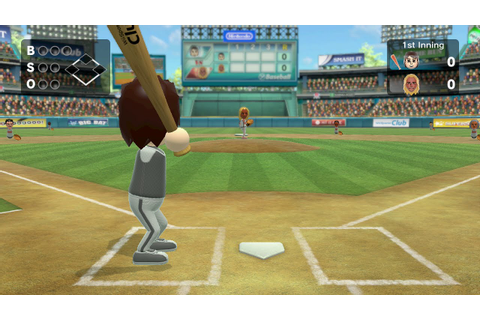 Wii Sports Club - Baseball Champion Match - Enrique - YouTube