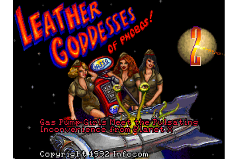Playing Games So You Don't Have To: Leather Goddesses of ...