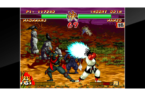 ACA NEOGEO SAMURAI SHODOWN II on PS4 | Official ...