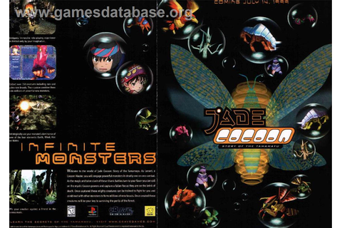 Jade Cocoon: Story of the Tamamayu - Sony Playstation ...