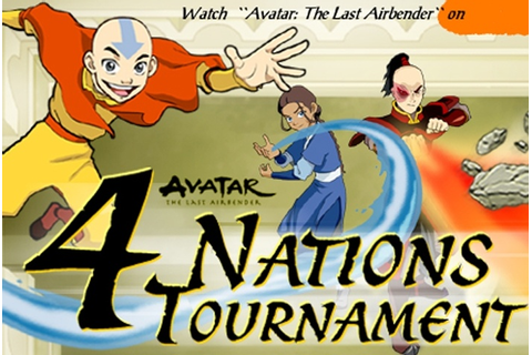 Avatar - 4 Nations Tournament Game - Avatar The Last ...
