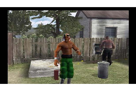 Backyard Wrestling: Don't Try This At Home Game | PS2 ...