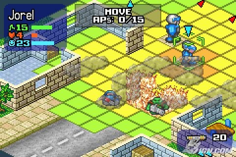 Rebelstar: Tactical Command [Gba] [Multi5/Español ...