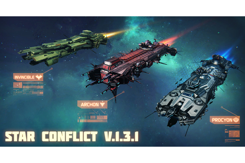 STAR CONFLICT — MMO SPACE ACTION - News