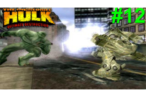 The Incredible Hulk: Ultimate Destruction PS2 Gameplay #12 ...