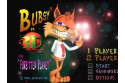 First Level - Bubsy 3D - YouTube