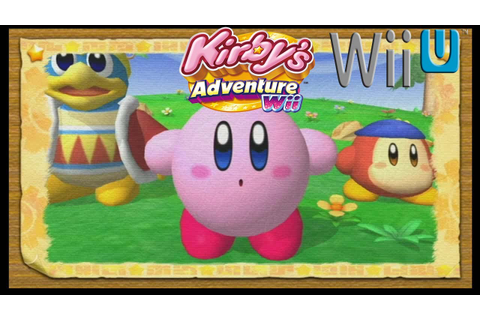 Kirby's Adventure Wii - Wii U Virtual Console Gameplay ...