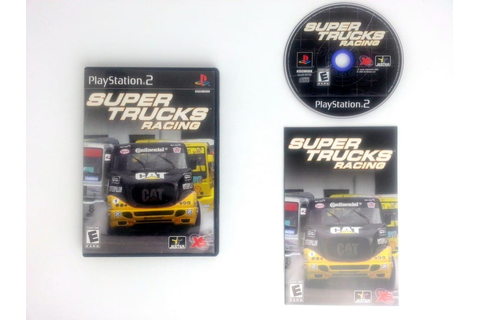 Super Trucks Racing game for Playstation 2 (Complete ...
