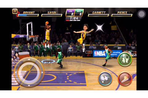 NBA JAM by EA SPORTS™ LITE - Iphone Games | Sport Gameplay ...