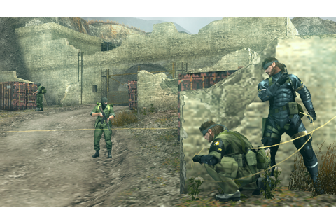 Metal Gear Solid : Peace Walker [FR] | [PspGamIIng] Free ...