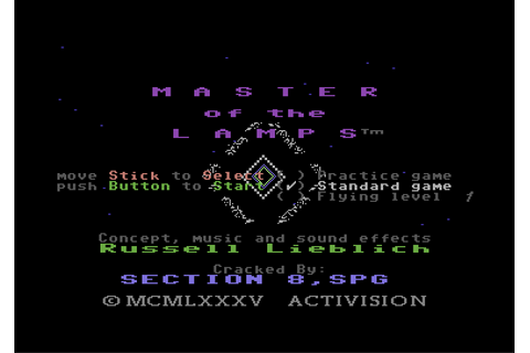 Download Master of the Lamps - My Abandonware