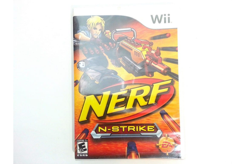 NERF N-Strike (game only) game for Wii (New) | The Game Guy