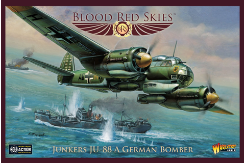 Bombers Soar Through Blood Red Skies Soon From Warlord ...