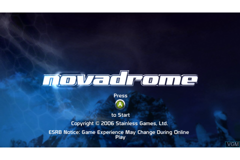 Novadrome for Microsoft Xbox 360 - The Video Games Museum
