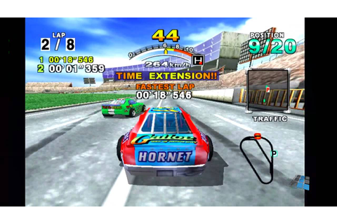 Daytona USA 2001 (Gameplay) - YouTube