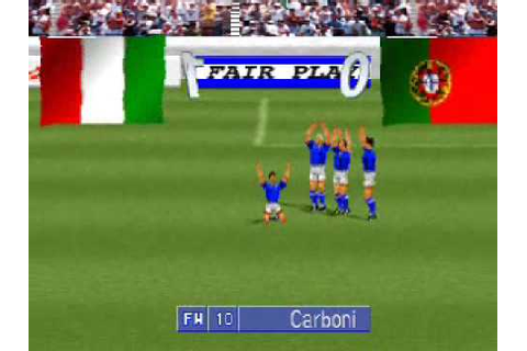 International Superstar Soccer Pro (PSX) - YouTube