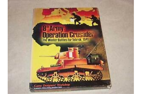 GDW - 8th Army: Operation Crusader - Winter Battles for ...