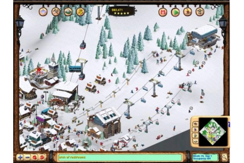 Ski Resort Tycoon: Deep Powder - Ski Game for PC