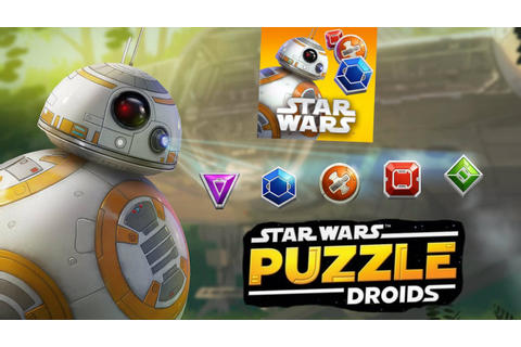 star wars puzzle droïde ( games jeux) - YouTube