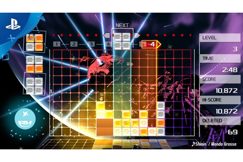 Lumines Remastered – Announce Trailer | PS4 - YouTube