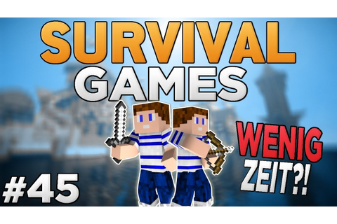 WENIG Zeit & Stress?! - Survival Games #45 | CraftingPat ...