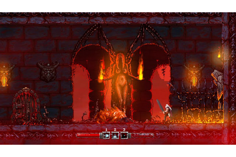 Indie Retro News: Slain! - A very gory pixelated ...