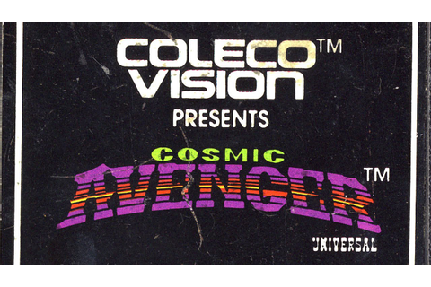 Classic Game Room - COSMIC AVENGER review for ColecoVision ...