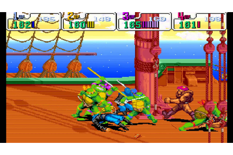 Teenage Mutant Ninja Turtles: Turtles in Time HD (Arcade ...