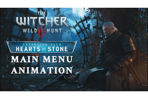 Hearts of Stone Main Menu Animation in Witcher 3: Wild ...