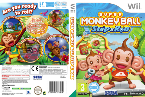 SMBP8P - Super Monkey Ball: Step & Roll