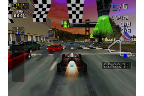 San Francisco Rush 2049 Download Game | GameFabrique