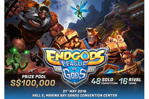 "Come, See Toys: UPCOMING - EndGods - ""League of Gods ..."