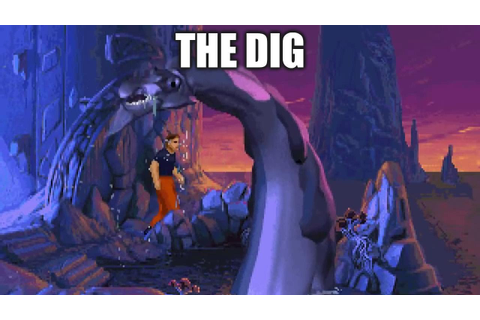 THE DIG Adventure Game Gameplay Walkthrough - No ...