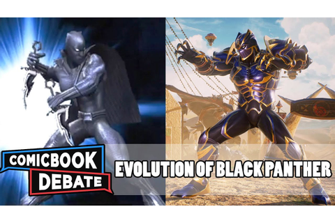 Evolution of Black Panther in Games in 8 Minutes (2018 ...
