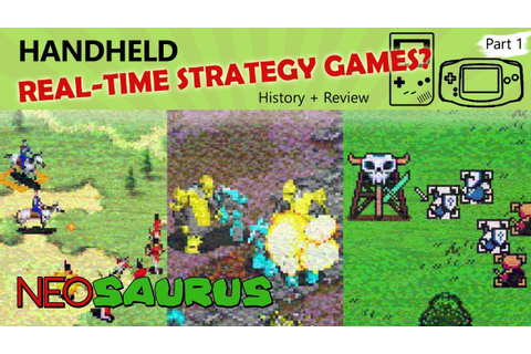 Handheld RTS Games? - Part 1 - Warlocked (GBC), Mech ...