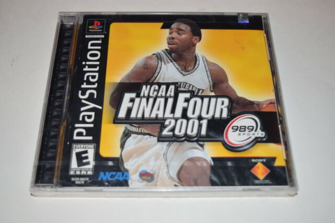 NCAA Final Four 2001 Playstation PS1 Video Game New Sealed ...