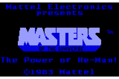 Masters of the Universe: The Power of He-Man (1983 ...