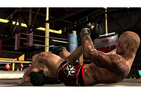 Supremacy MMA Takedown And Submission Screenshots Released