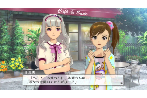 THE iDOLM@STER One for All - Duo Contact (Takane and Mami ...