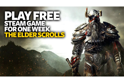 Play Free PC Game The Elder Scrolls Online - Free Steam PC ...