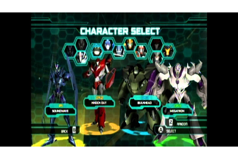 Transformers Prime The Game - Multiplayer Mode - Emblem ...