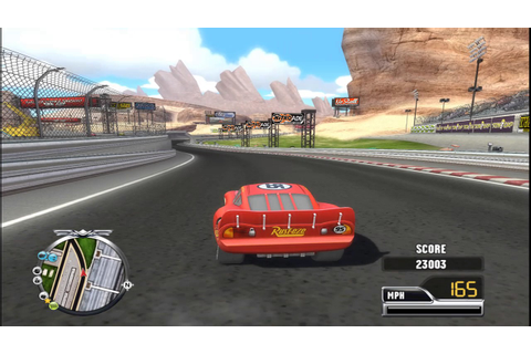 Cars Race O Rama Wii Gameplay - YouTube