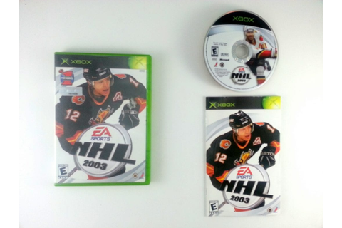 NHL 2003 game for Xbox (Complete) | The Game Guy