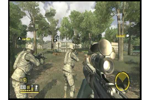 Americas Army True Soldiers - Firefight - MOUT - YouTube