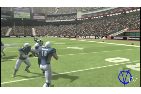 Backbreaker Football - Running Gameplay Video + Commentary ...