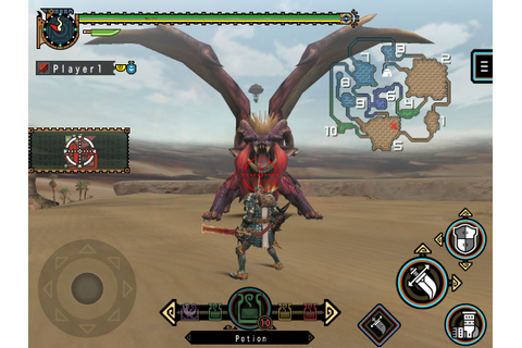 Monster Hunter Freedom Unite for iOS now available - Gematsu