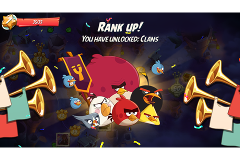 Angry Birds 2 Clans: take on epic challenges together ...
